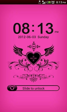 GO Locker Black-Pink Theme