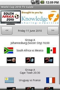 2010年世界杯电视指南