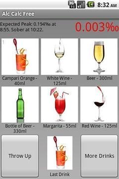 酒精度计算器免费