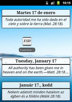 Examine the Scriptures Daily 2