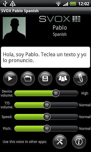 SVOX Spanish Pablo Trial