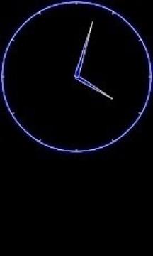 仿真夜时钟