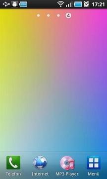 Four Colors Live Wallpaper
