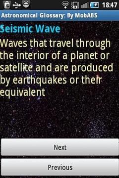 Astronomy Glossary
