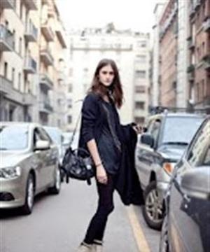 街拍时尚女孩壁纸