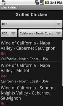 Wine Food Matcher