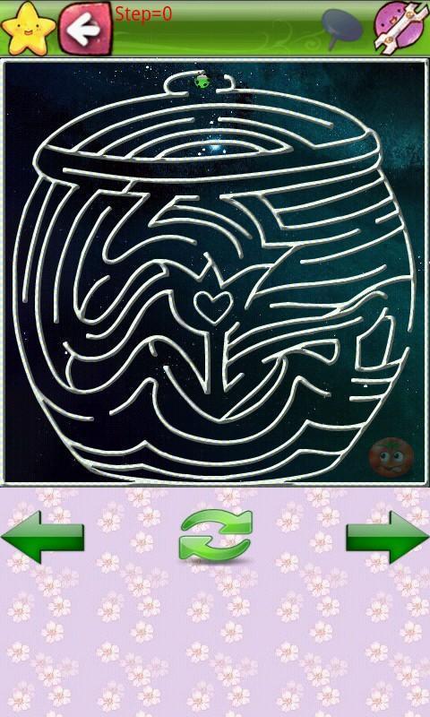 儿童简单迷宫画法