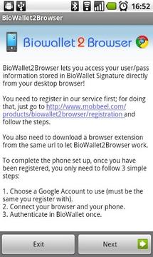 BioWallet2Browser