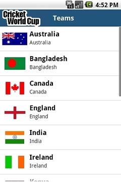 Cricket World Cup Schedule