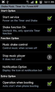PowerAMP ShakeMusicTimer Trial