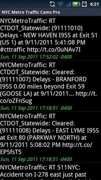 NYC Metro Traffic Cameras Free