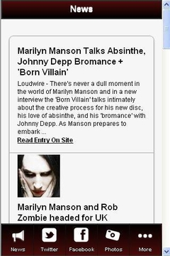 Marilyn Manson Fan