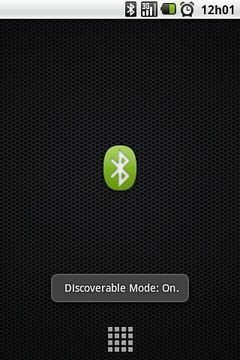 Bluetooth Discoverable