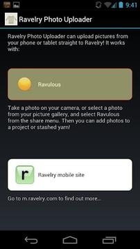 Ravelry Photo Uploader