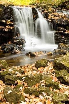 美丽的瀑布图片