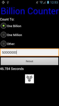 Billion Counter Benchmark