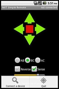 NXT Simple Remote
