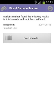Picard Barcode Scanner
