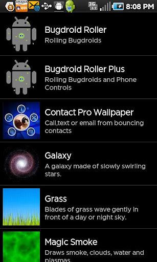 Contact Pro Live Wallpaper