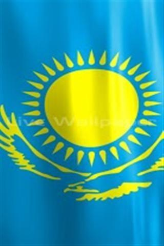 哈萨克斯坦国旗主题壁纸下载_哈萨克斯坦国旗主题壁纸