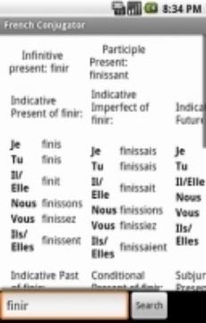 French Conjugator