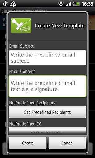 电子邮件模板