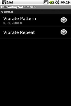 振动呼叫等待 Call Wait Vibrate
