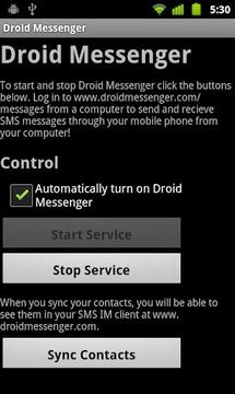 Droid Messenger