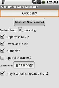 偶然密码生成器