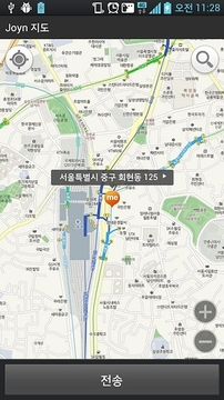 LG Uplus 스마트070, joyn 연동 지도