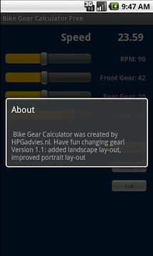 Bike Gear Calculator Free