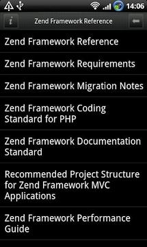 Zend Framework Reference Pro