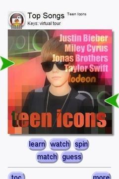 Teen Icons - Top Songs (Keys)