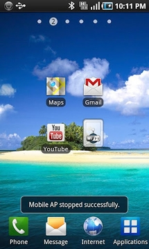 AndSpot Widget(Mobile AP)