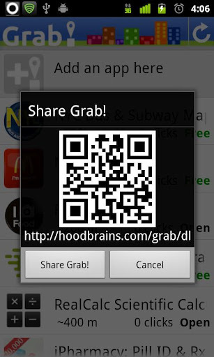 Grab! Find useful apps