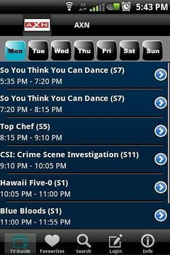 Astro B.yond TV Guide