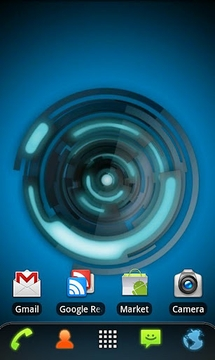 RLW Theme Black Blue Tech