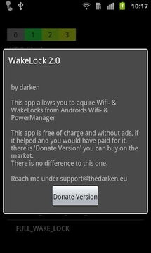 唤醒锁 Wake Lock - PowerManager