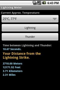 Lightning Meter