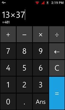 My Basic Calc (Calculator)