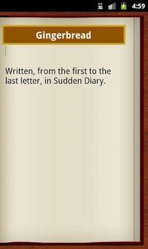 Sudden Diary