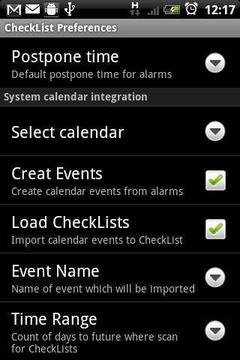 备忘录(Android CheckList)