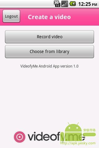 视频电话 videofyMe