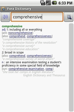 English Dictionary Package