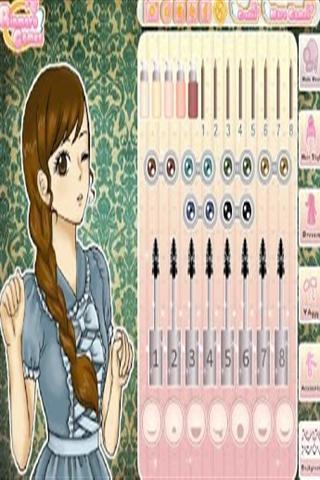可爱的动漫女孩打扮截图(4)