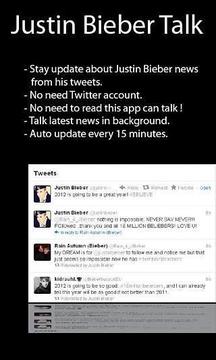 Justin Bieber Talk