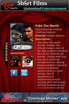 TeluguOne Short Films