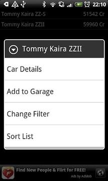 Gran Turismo Car Database