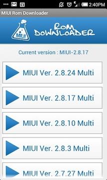 MIUI Rom Downloader