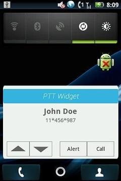PTT Widget